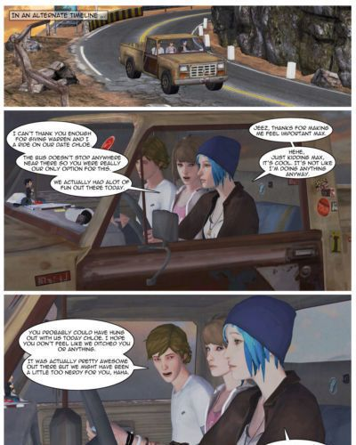 GrahamField Life is Strange comic by DV89