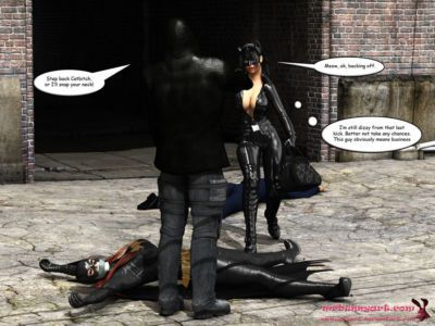 Batgirl vs Cain - part 2