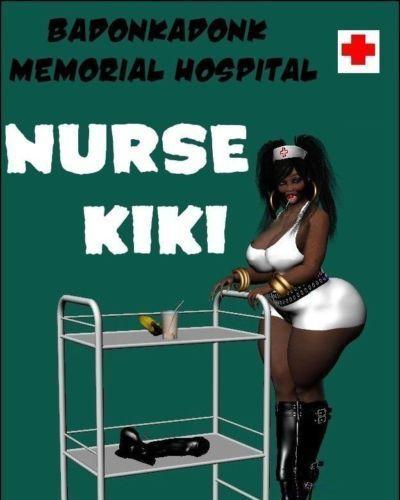 badonkadonk 紀念 醫院 護士 琪琪