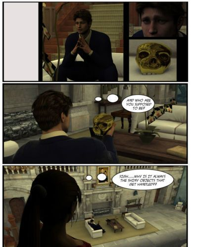 Lara Croft 3d Comic - Negotiation