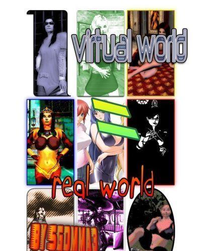 virtual world = real world