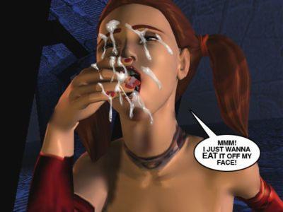 Mindy - 性愛 奴隸 上 火星 C - 一部分 16