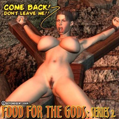 Food For the Gods : Series 2 Complete 3d Red Demon Comic