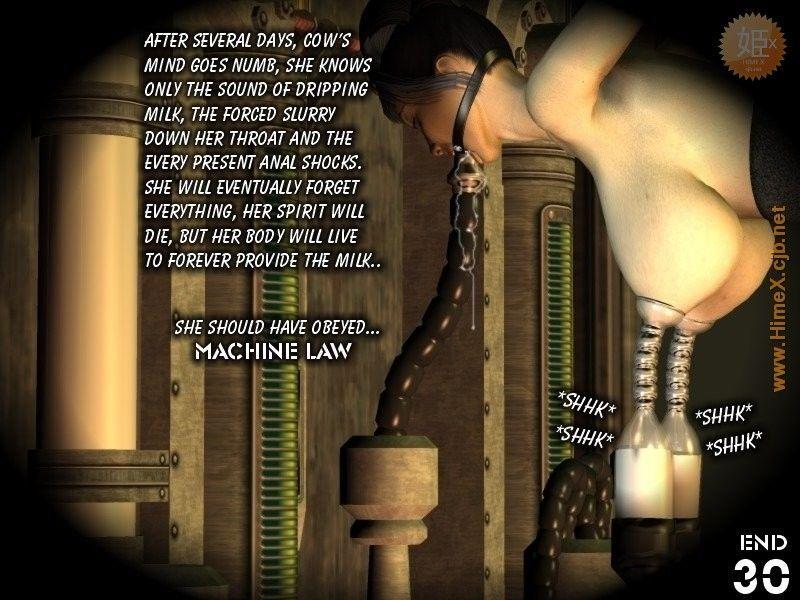 Machine Law. Series 1: Milk - part 2