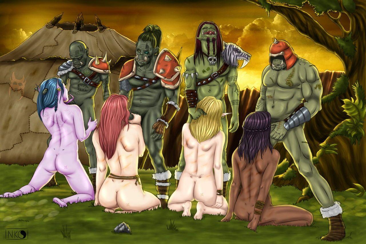 Warcraft рисунки эротика 3