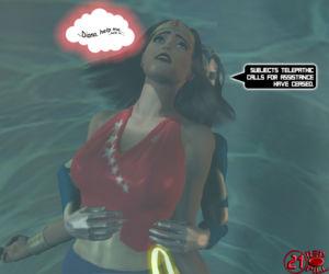 Wonderwoman enslavement comic - part 2