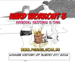 Hard Workout 3 - Getting a Tan - part 3