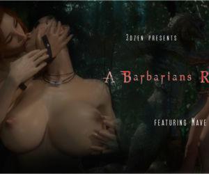 A Barbarians Reward