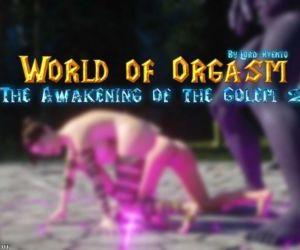 World Of Orgasm Golems Awakening II