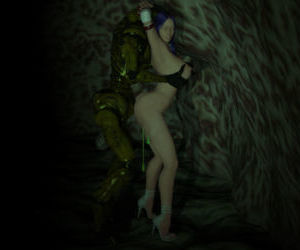 Breast Groping Monsters 3D style - part 4