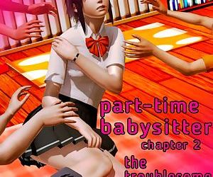 Part-time Babysitter: Chapter 2 - The Troublesome Trio