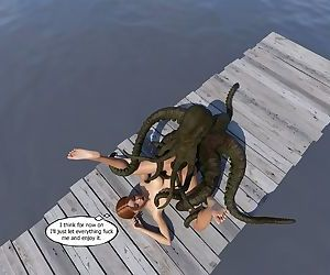 3DMidnight- Lake Monster - part 3
