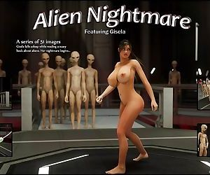 Erotic 3D Art – Alien Nightmare