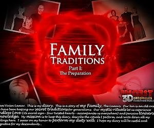 Family Traditions. Part 1- Incest3DChronicles