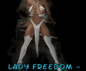 Captured Heroines- Lady Freedom Trapped