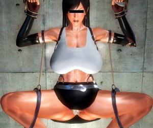 HoneySelect - Big ugly man vs Tifa