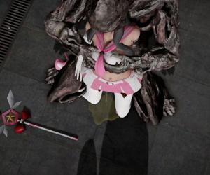 魔法戦士凌辱シリーズ01 Cutie Ruby vs 泥人 -..