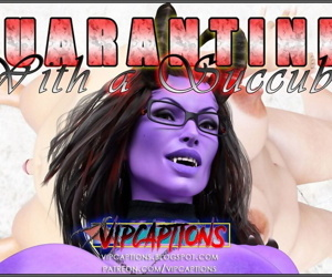 VipCaptions- Quarantined With a Succubus