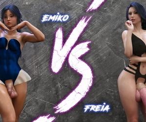 Squarepeg3D Match 09 - Emiko vs Freia French
