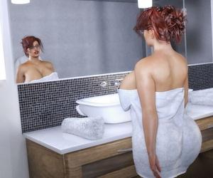 Dr3nchd Samantha Blush in Showered