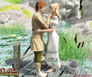 3D porn comics - Fairyland 1