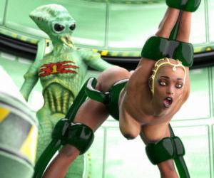 Alien Abduction Shorts - part 2