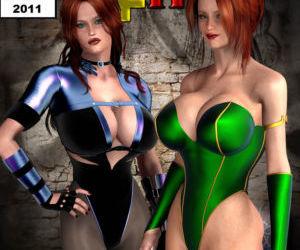 Legion Of Superheroines Annual 2011 & 2012