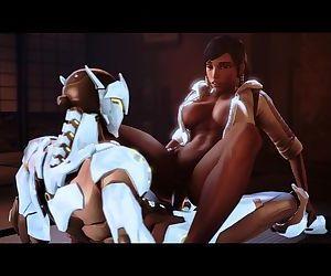 Overwatch Pharah&Genji