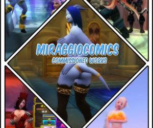 MiraggioComics - Commission 3D..