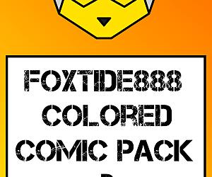 Foxtide888 Colored Comic Pack 02