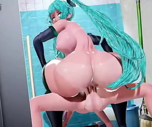 Lewd Miku Scene 5 min 720p