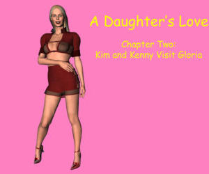 Comics A Daughter's Love 2- 3D Incest, family  group