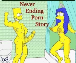 Comics Never Ending Porn Story, family , simpsons  All