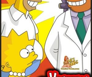 Comics The Simpsons – Visiting Doctor, simpsons  blowjob