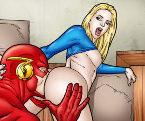 Comics Leandro- Flash and Supergirl Quick.., anal , pussy licking  bigass