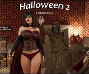 Comics Blackadder- Halloween 2,3D sex, blowjob  anal
