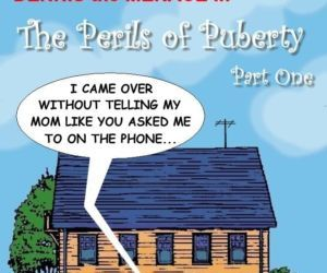 Comics Dennis The Menace- Perils of Puberty, brother sister  All