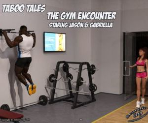 Comics The Gym Encounter- Taboo Tales, blowjob  interracical