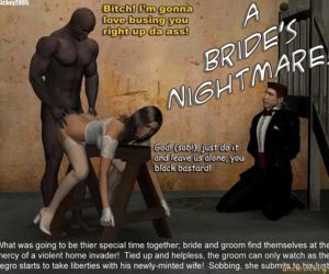 Comics UncleSickey- A Bride Nightmare, interracical  blowjob