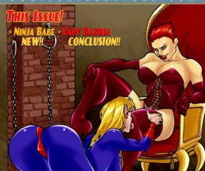 Comics 9 Super Heroines – The Magazine 3, group  blowjob