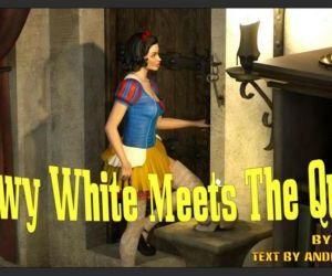 Comics Snowy White Meets The Queen- Affect3D, blowjob , shemale  futanari & shemale & dickgirl