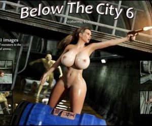 Comics Blackadder- Below The City 6, blowjob , monster  big-cock