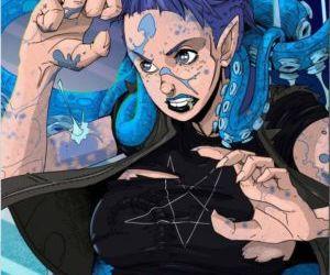 Comics DeLonge- Life Mutated, transformation  lesbian