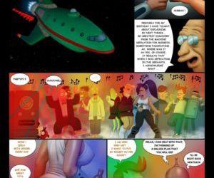 Comics Futurama- An Indecent Proposition, blowjob , threesome  double penetration