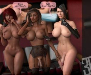 Comics 3DSimon- My StepMom Is a DickGirl 2, blowjob , threesome  futanari & shemale & dickgirl