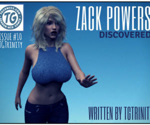 Comics TGTrinity- Zack Powers 10 transformation