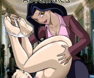 Comics Palcomix- Jade Chan Adventures lesbian