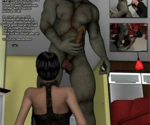 Comics 3DFiends- Monster Chronicles 16, blowjob , forced  monster