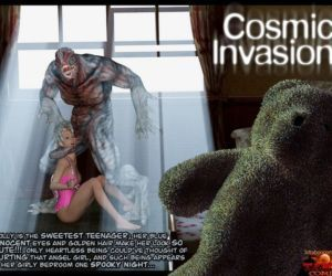 Comics Gonzo- Cosmic Invasion, blowjob  forced