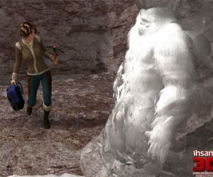 Comics Insane3D- Horny Bigfoot, monster  forced